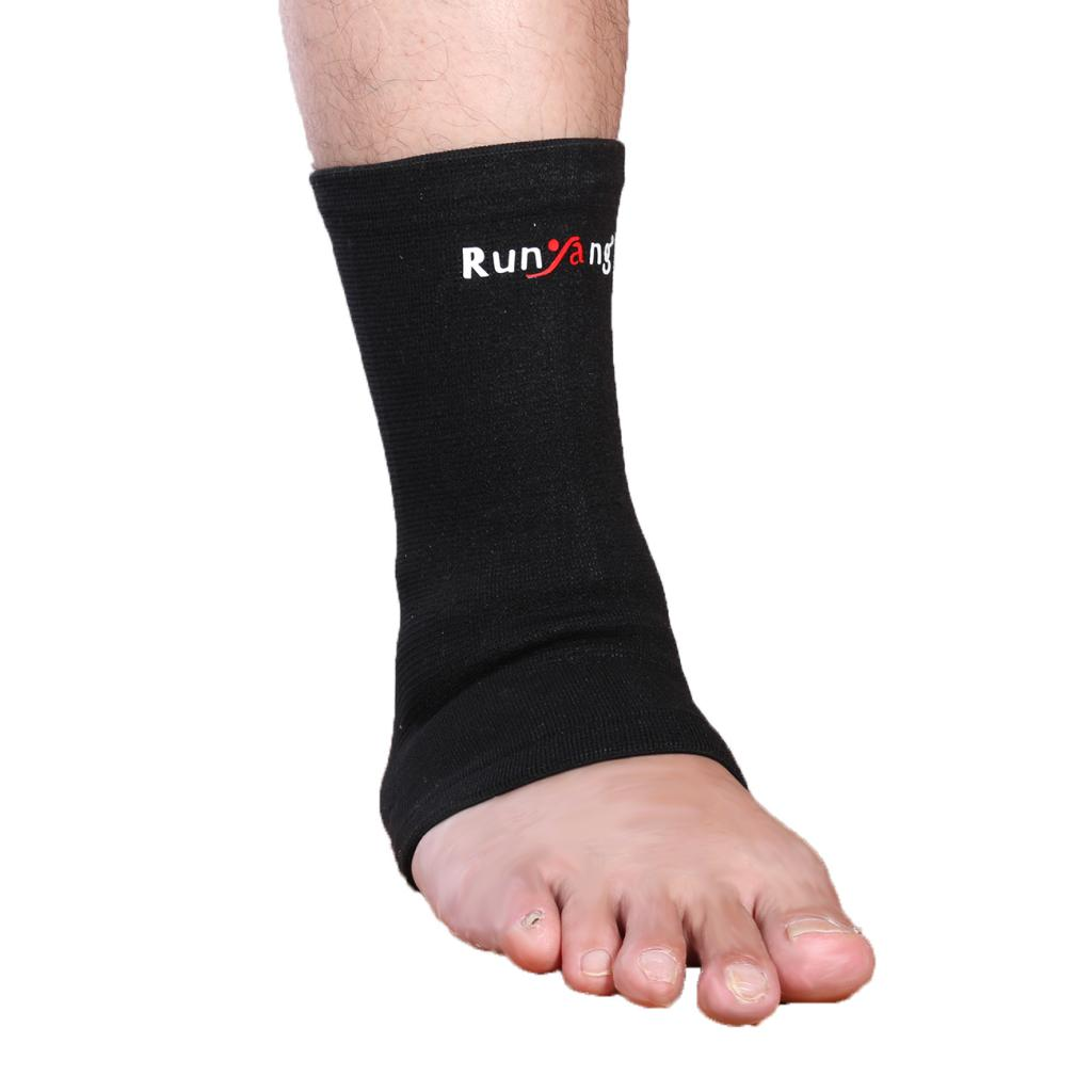 Ankle Support Compression Sleeve Brace Sprain Gym Socks Foot Protector S/M/L