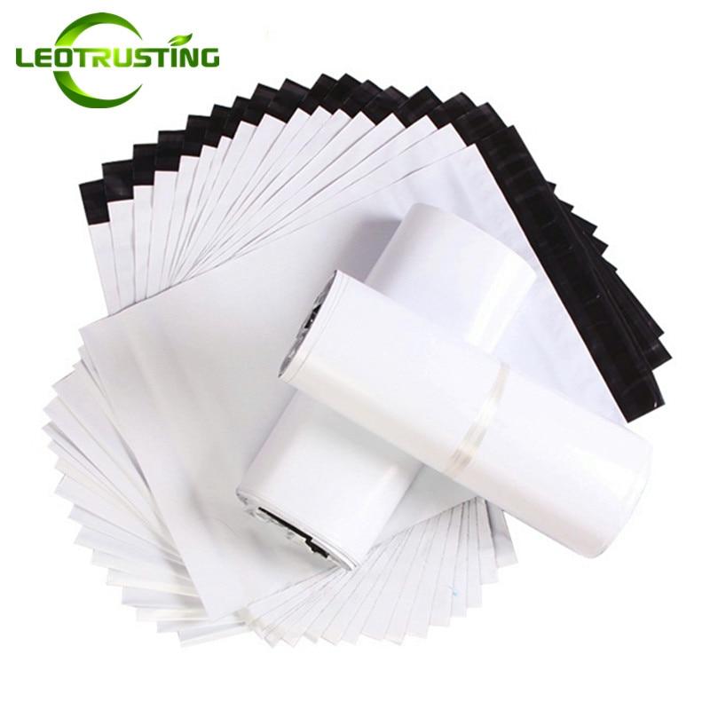Leotrusting Milk White Poly Mailer Adhesive Envelope Bags Bolsa Courier Express Bag Plastic Milk White Gift Packaging Mailer Bag|bag bolsa|bag plastic|bag bag - title=