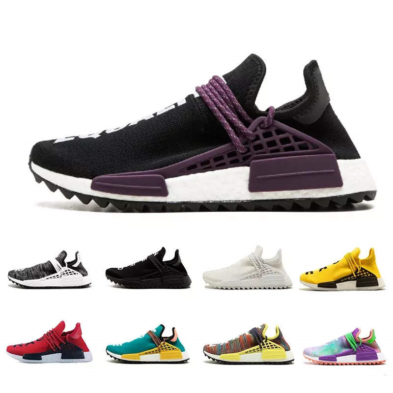 d74f99c47cee3 2018 New Human Race Pharrell Williams Hu Men Womens Running Shoes NMD XR1 Sports  Shoes Eur