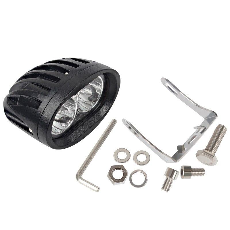 Worklight 20W 12V Spotlight Fog Lamp Offroad Working Light For ATV SUV Motorcycle Truck Boat LED Work Light Day Light