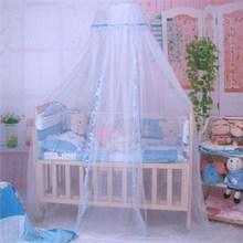 3 Colores 1 UNID toldillo de cama de bebé Lindo Bebé de La Princesa Canopy Netting Cuna Cúpula Mosquitera Cama para Nursery VBQ95 T0.5