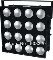 HOT 55*55*25CM 16pcs*30W 3in1 RGB Full Color LED Matrix Light With Built in Program And Strobe Effects