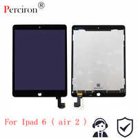 "New 9.7"" For Apple Ipad Air 2 ipad 6 A1567 A1566 Full Lcd Display With Touch Screen Digitizer Panel Assembly Complete"