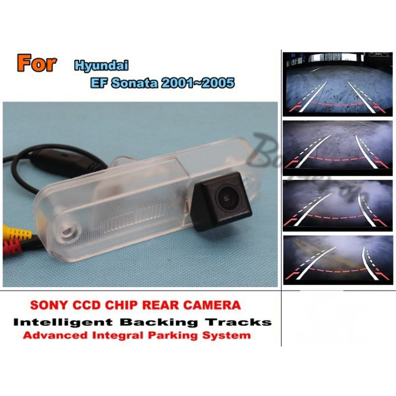For Hyundai EF Sonata 1998~2006 Car Intelligent Parking Tracks Camera / HD Back up Reverse Camera / Rear View Camera lyudmila car intelligent parking tracks camera for mazda 6 mazda6 m6 sedan 2013 2017 hd car back up reverse rear view camera