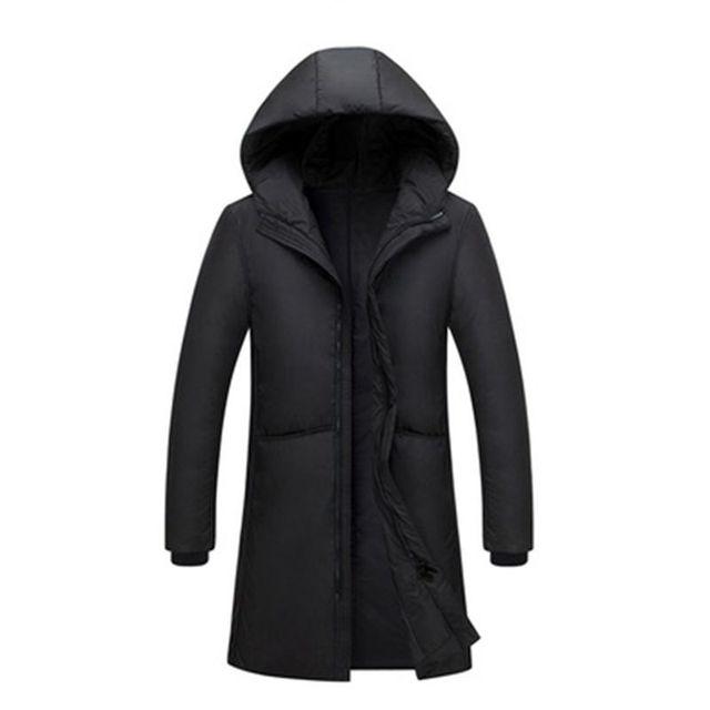 Russia 90% piume danatra bianca giù lungo giacche degli uomini di Inverno lungo parka Impermeabile antivento con cappuccio del cappotto maschile di Alta qualità addensare cappotti