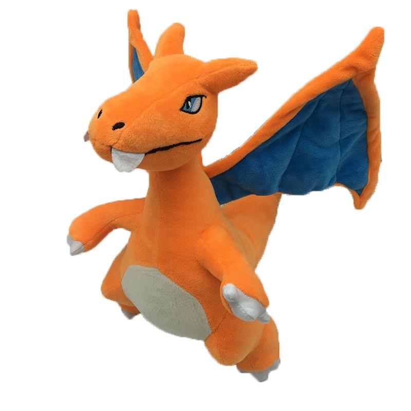 Charizard Plush Fyllda leksaker Tecknade tecken Djur dockor och fyllda leksaker för barn Julklapp Kawaii Charizard Plush Dolls