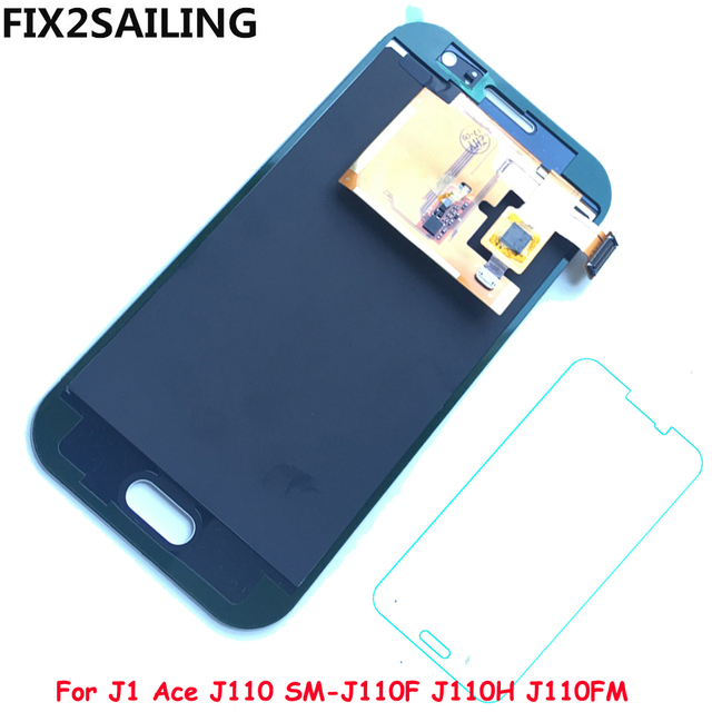 New Super LCD Display 100% Tested Working Touch Screen Assembly For Samsung Galaxy J1 Ace J110 SM-J110F J110H J110F (Adjustment)