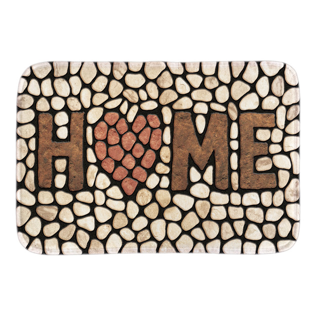 Gentil Home Stone Doormats Funny Indoor Front Door Floor Mats Decorative Door Mats  For Bathroom Livingroom Short