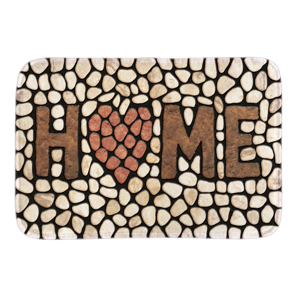Home stone doormats funny indoor outdoor front door floor for Decorative door mats indoor