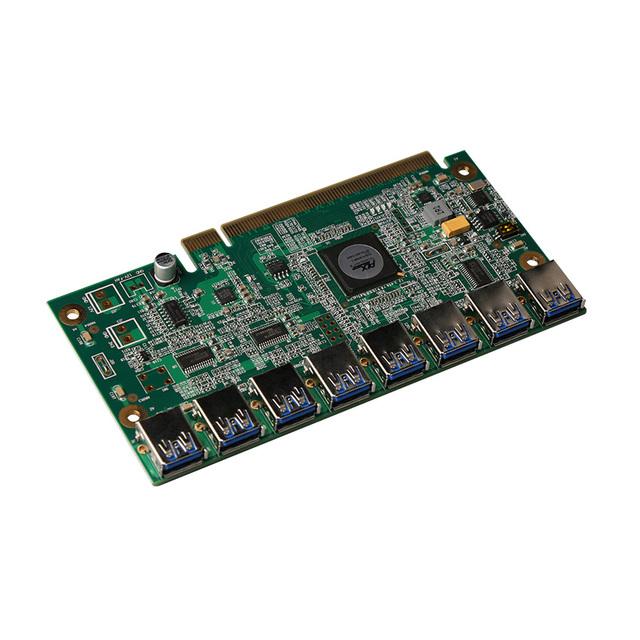 CNKESIN PCI-E PCI Express Riser Card 16x USB 3.0 Data Cable SATA to 8Pin Adapter Card for BTC Miner Machine