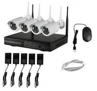 4CH NVR WIFI CCTV Security Camera System 4PCS 960P HD Outdoor Wireless CCTV Kit Video Surveillance System P2P ONVIF