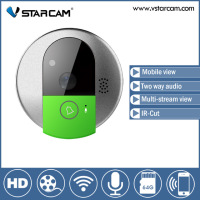 Free Shipping Vstarcam C95 WIFI Doorcam HD 720P CMOS Sensor Wireless Doorbell Two Way Audio Video