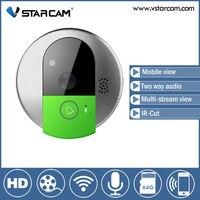 Free Shipping Vstarcam C95 WIFI Doorcam HD 720P CMOS Sensor Wireless Doorbell Two Way Audio Video
