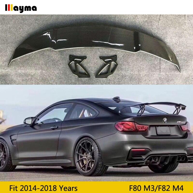 Vorsteiner Style Carbon Fiber Rear Trunk Spoiler For BMW F82 M4 GTS 2014-2018 Year F87 M2 F80 M3 F10 G30 M5 M6 Spoiler Wing