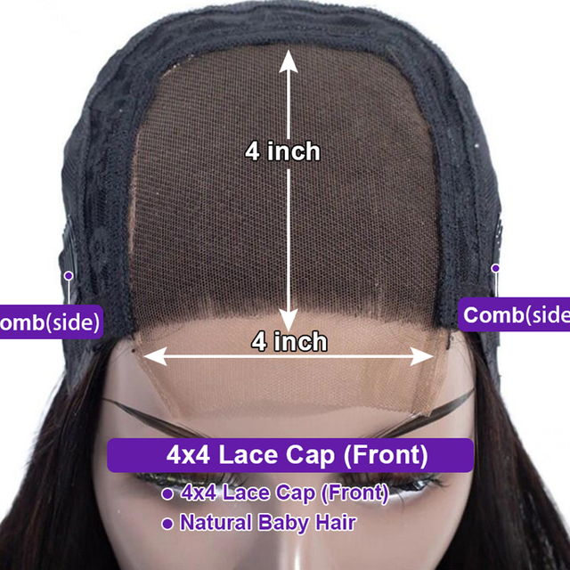 Long Straight Lace Front Wig