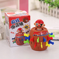 Pirates Barrel Bayonet Catapult Trapeze Tricky Funny jokes GagsToy For Children Creative Easter Halloween April Fool Trick Toy