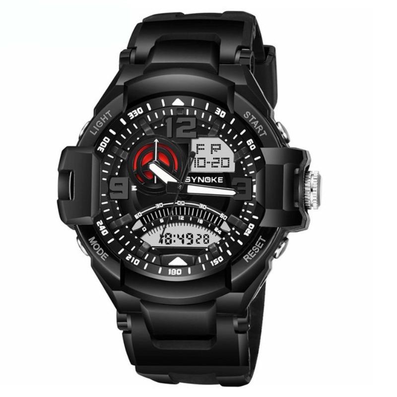 Waterproof Wristwatch Digital Clock Watch-Resistant Multi-Function Swimming Sport Casual