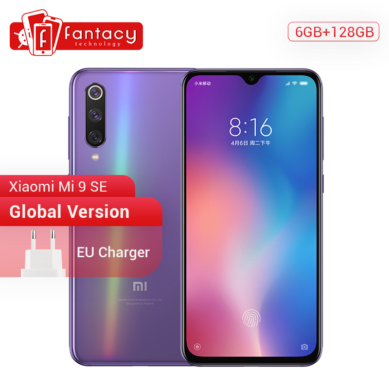 Versão global xiao mi 9 se mi 9 se snapdragon 712 6 gb 128 gb 5.97