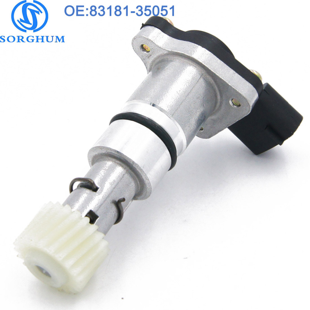 US $16 46 |Front 83181 35051 Vehicle Speed Sensor 8318135051 VSS With Gear  For Toyota 4Runner Previa Pickup 83181 35080 SC224 SU6252 -in Speed Sensor