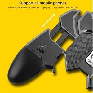 Image 5 - נייד PUBG בקר מחזור כפתור Gamepad עבור PUBG IOS אנדרואיד שש 6 אצבע הפעלה Gamepad ציוד היקפי PUBG בקר