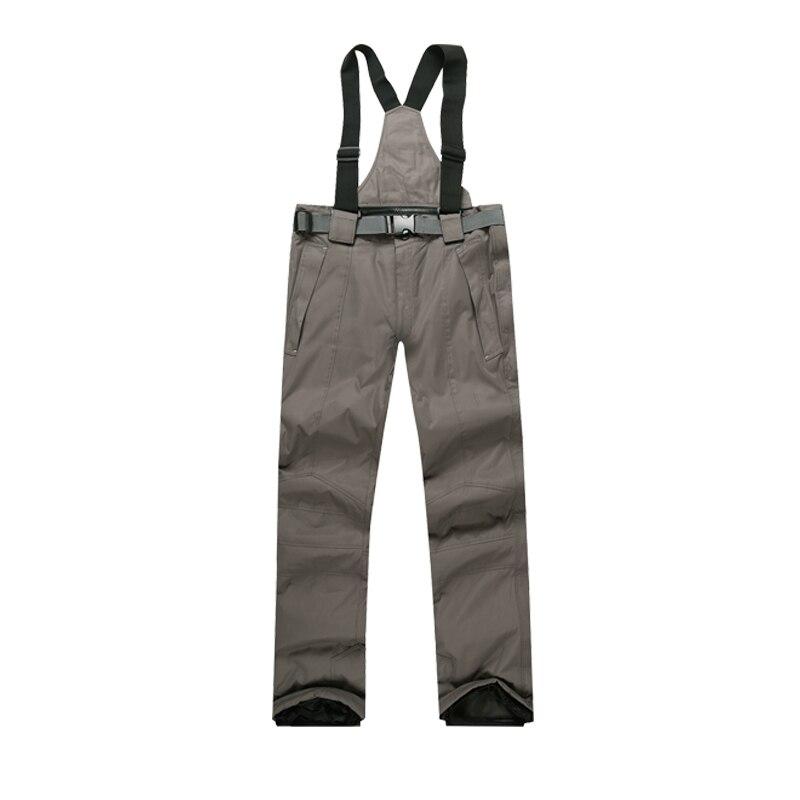 Pantalons de Ski hommes et femmes hiver de haute qualité épaissir imperméable coupe-vent chaud pantalons de neige marques de pantalons de Ski et de snowboard - 3