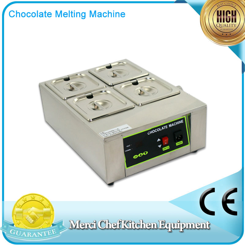Digital Chocolate Melting Machine Stainless Steel Chocolate Machine With 4 pcs pan fast shipping food machine digital chocolate melting machine stainless steel chocolate machine household and commercial