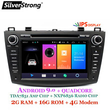 SilverStrong 4G Modem Android 9.0 Auto DVD Voor Mazda 3 Axela 4G SIM Auto Multimedia Mazda 3 Bluetooth 4.0 WIFI Optie TPMS(Hong Kong,China)