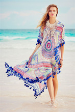 2017 New Arrivals Beach Cover up Swimwear Ladies Swimwear Pareo Beach Cape Sun Bath Beach Wear Dress Swimwear Summer Beach Dress