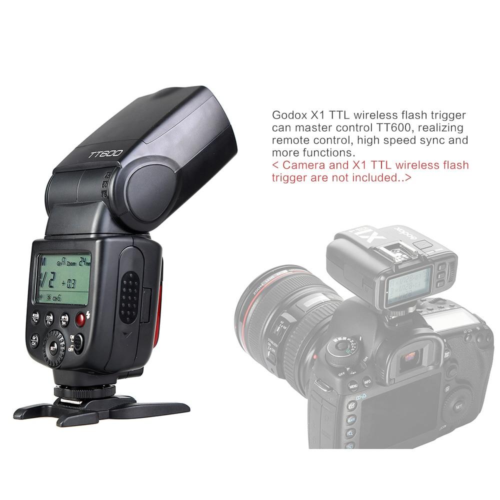 Godox TT600 TT600S Flash 2.4G Speedlite inalámbrico + X1T-C / N / S - Cámara y foto - foto 4
