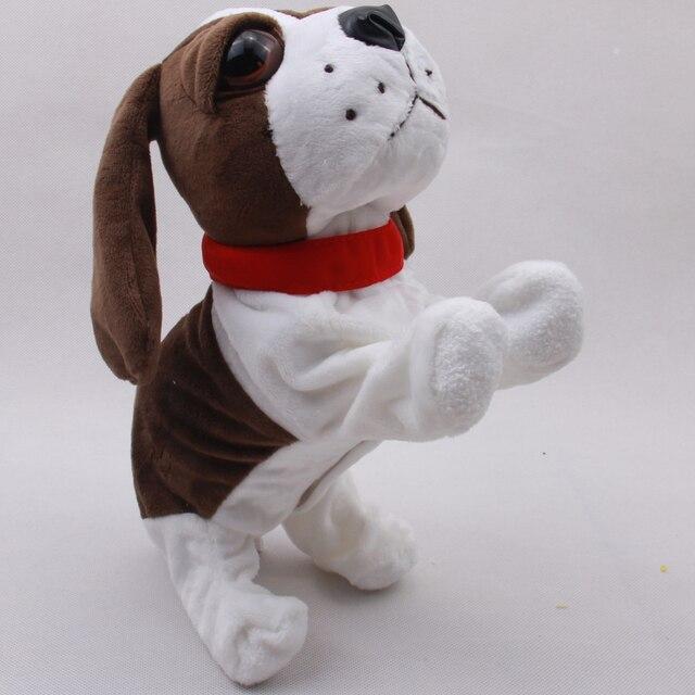 Sound Control Электронные Собаки Интерактивные Электронные Домашние Животные Робот Собака Кора Стоять Ходить Электронные Игрушки Собаки Для Детей Рождество