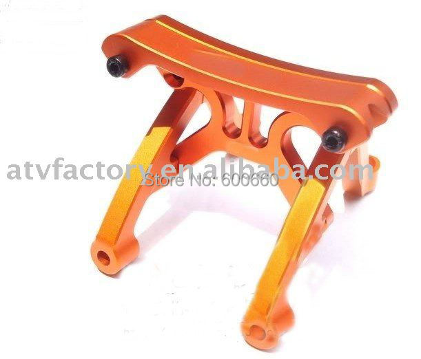 metal parts for baja for HPI KM ROVAN 1/5 Baja 5b orange and silver can choose baja alloy rear bumper orange color for hpi km rovan 1 5 baja 5b 851241