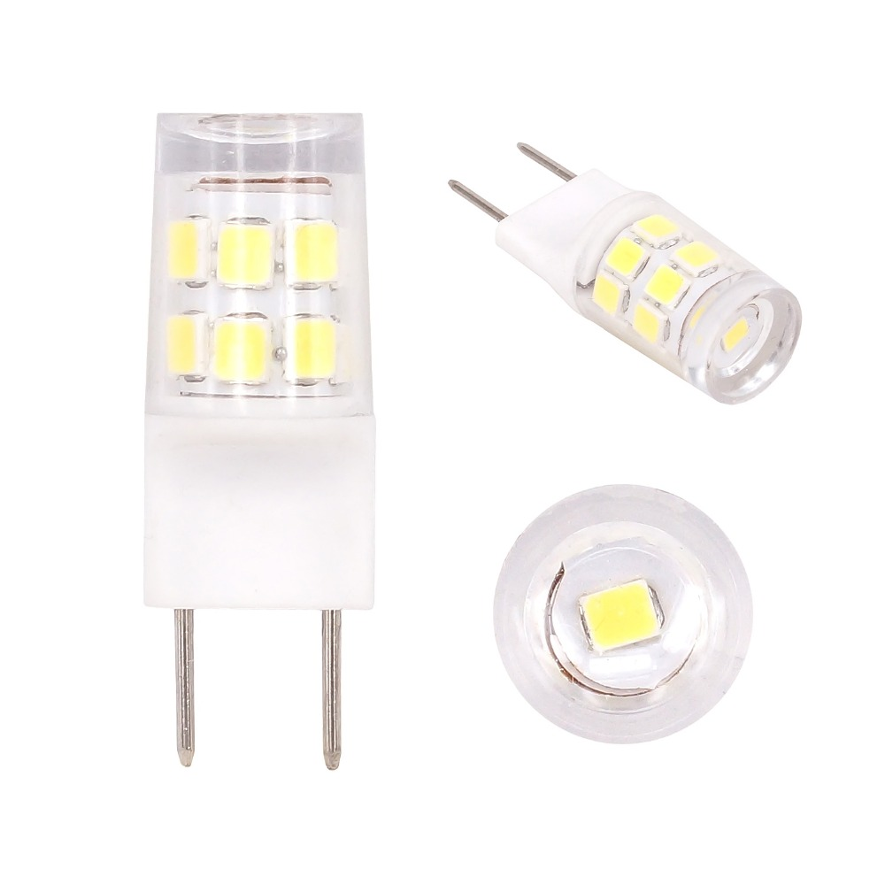 10pcs 120V G8 LED font b Light b font Bulb 2W G8 Led Crystal Lamp Replace