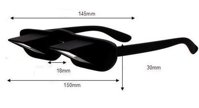 4d1e628bee 1 unids Horizontal alta definición Lazy gafas acostado cama viendo ...