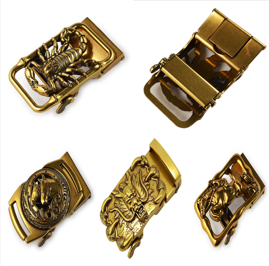 Stereoscorpion Buckle New Arrival Hip Pop Style Leather Belt Buckle Scorpion Mens Belts Luxury Brands High Quality Fashion