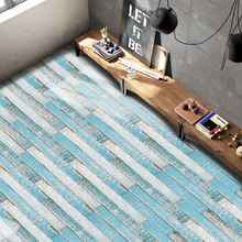 5M Self-adhesive Wood Grain Floor Contact Paper Covering PVC Removable Decorative Film Wal Stickers