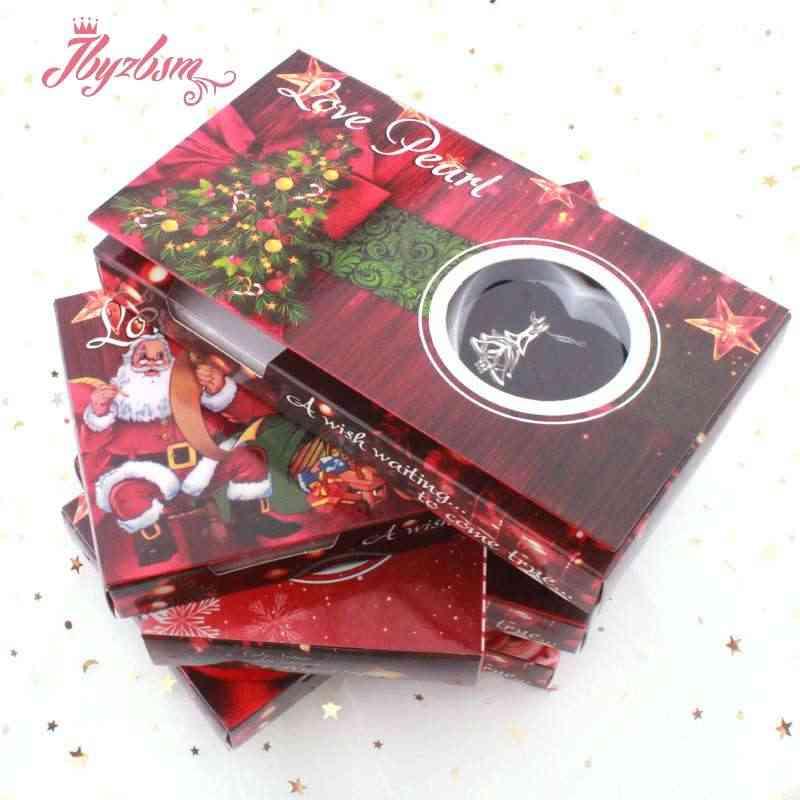 אופנה צדפה מאחל מים מתוקים פרל שרשרת נחמד לב אהבת תליון נשים מסתורי הפתעה תכשיטי חג המולד מתנה חדש מתנה לשנה