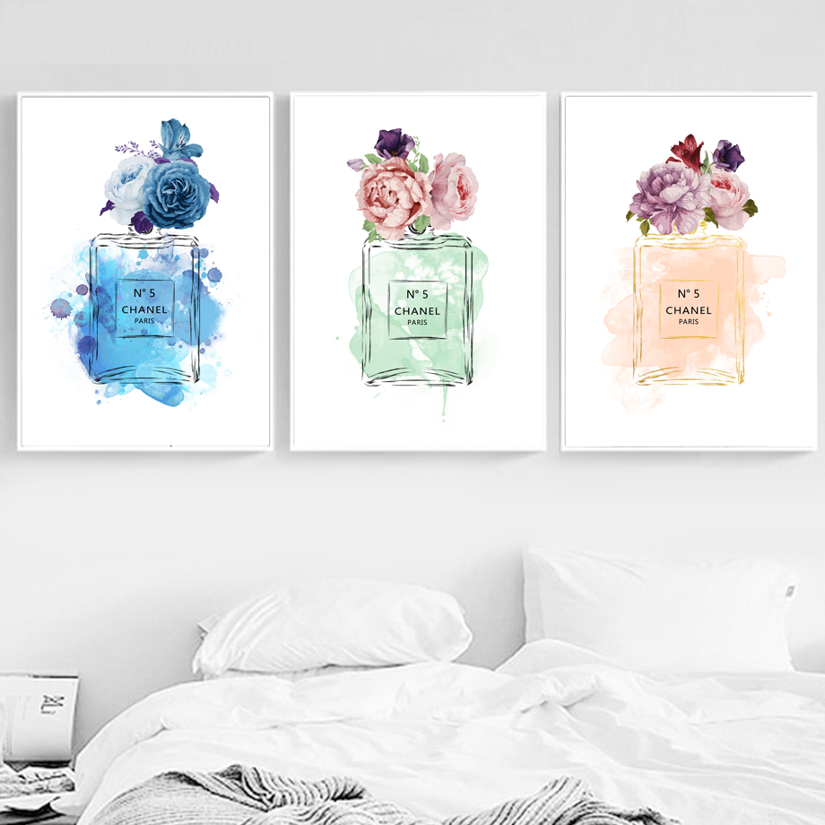 Decoration, Nordic, Pictures, Posters, Flower, Room