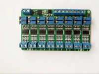 Free Shipping 8 Way Current To Voltage Module 4 20mA To 0 3 3V 0 5V