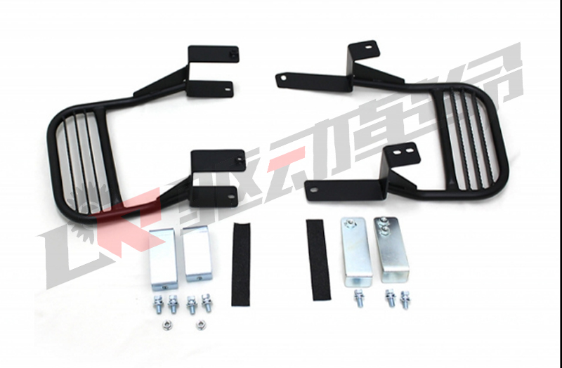 Jimny JB43 Steel Side Step Pedals Car Styling Off Road Accessories