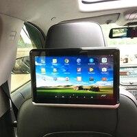 Android 6,01 Автомобильный подголовник монитор 2 шт 1366*768 1080 HD с сенсорным экраном WIFI Bluetooth USB sd карта без dvd плеера
