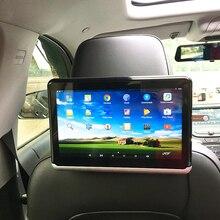 Android 6,01 Автомобильный подголовник монитор 2 шт 1366*768 1080 HD с сенсорным экраном WIFI Bluetooth USB sd-карта без dvd-плеера