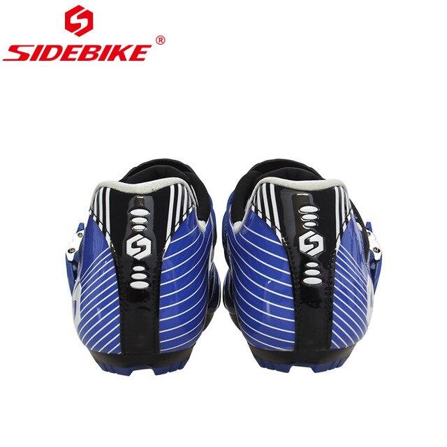 Sidebike calçado de ciclismo masculino, novo sapato esportivo antiderrapante e resistente para estrada e ciclismo ao ar livre sapatos com calçados 5