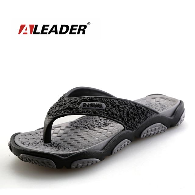 2016 Мужские сандалии Повседневное Летние тапочки Обувь Для мужчин Lesiure резиновая Босоножки на платформе Пляжные сланцы для Для мужчин Sandalias Mujer