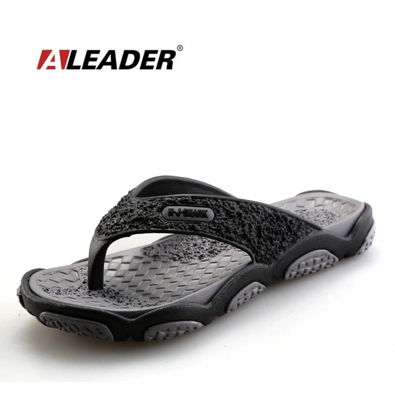 2016 Men's Sandals Casual Summer Slippers Shoes Men Lesiure Rubber Platform Sandals Beach Flip Flops For Men sandalias mujer 2016 genuine leather sandal shoes brand designer beach flip flops slippers male flat sandals for men 38 44 size