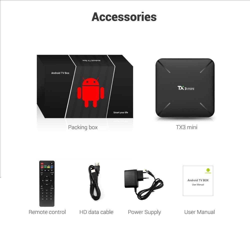 TX3 Мини ТВ приставка на базе Android Коробке 1 год Европа Франция подписки iptv 9100 жить и 11000 VOD лучший французский испанско-португальский взрослых iptv m3u коробка