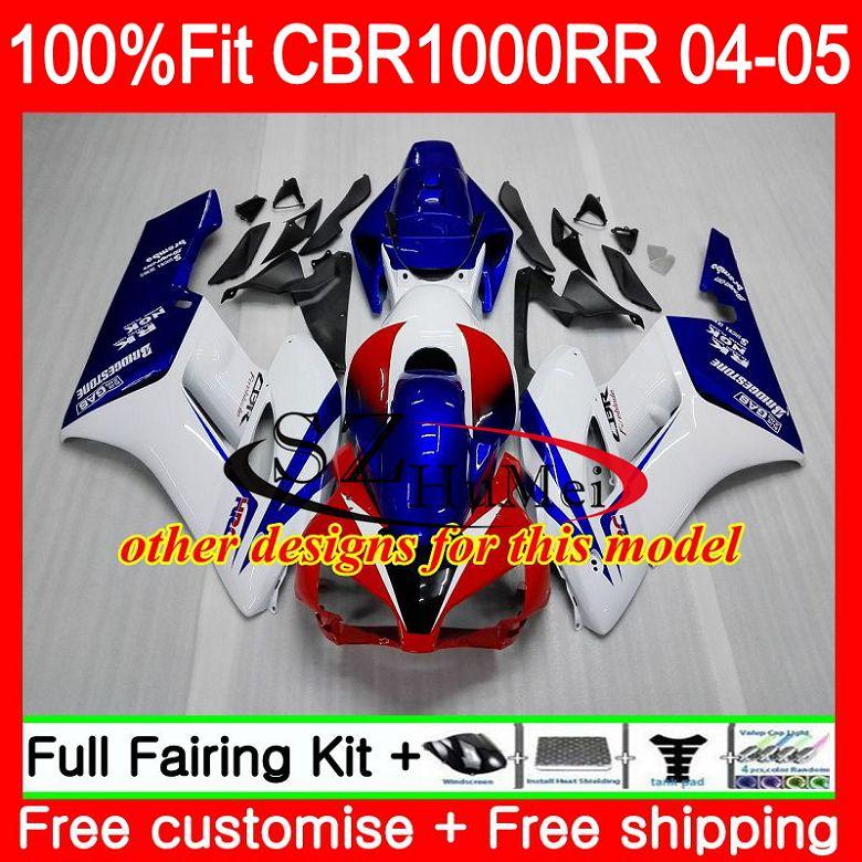 Carrocería de inyección para HONDA CBR 1000RR CBR1000 RR 04 05 58SH20 CBR1000RR 04 05 rojo negro Nuevo CBR1000 RR 2004 OEM 2005 carenados kit - 6