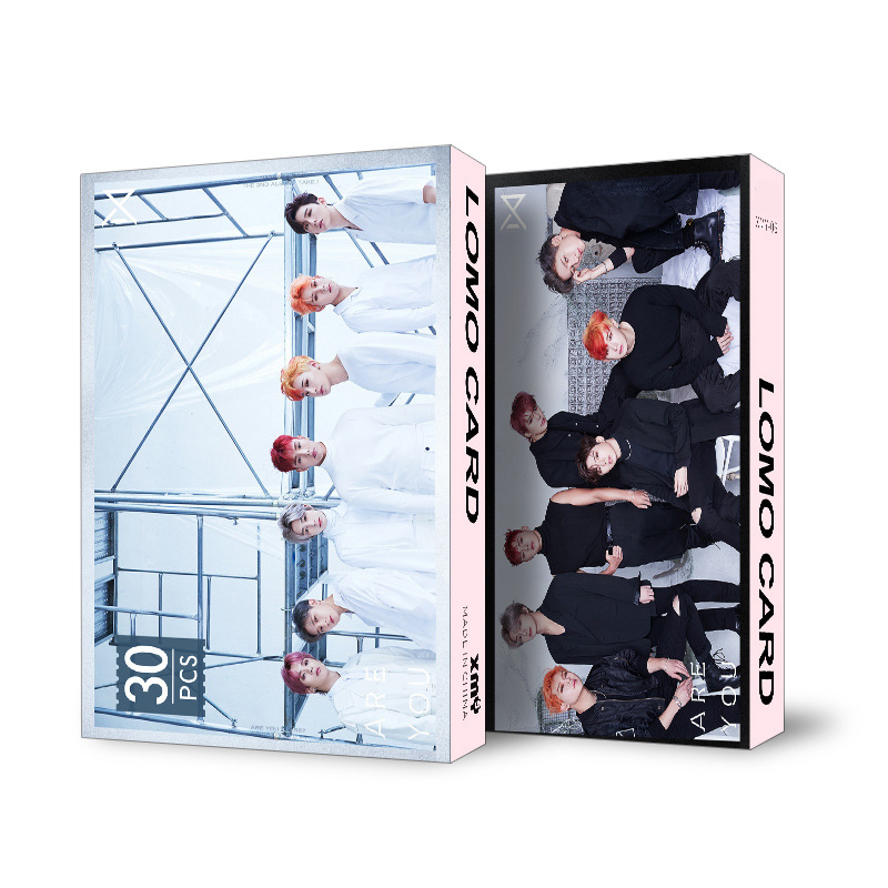 MONSTA X Photo Cards (Official Collection)