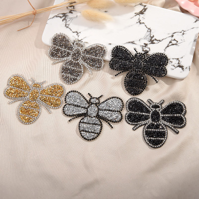 HTB14fvCdlWD3KVjSZFsq6AqkpXam A-Z 1pcs Rhinestone English Alphabet Letter Applique 3D Iron On letters Patch For Clothing Badge Paste For Clothes Bag Shoes