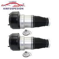 2pcs For Mercedes W221 S Class New Front Air Spring Bag Air Suspension Shock Repair Kits 2213204913 2213209313 2213205113