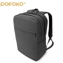 12 a 15.6 polegada homens bolsa de Laptop mochila grande capacidade Nylon Compact dos mochilas Unisex mulheres Bagpack